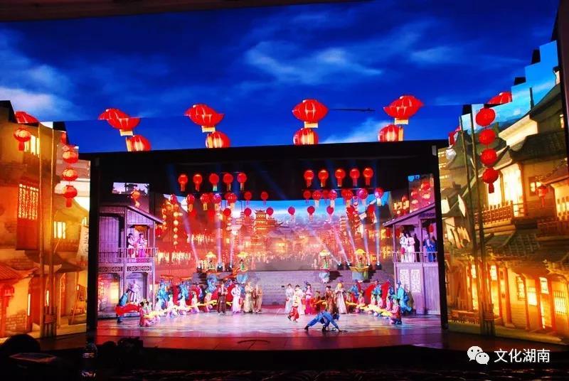 明和集团工程案例之全球首部全景式戏剧歌舞史诗《花鼓春秋》