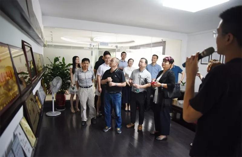 民建广州市番禺区基层委员会参政议政小组莅临明和产业园参观调研
