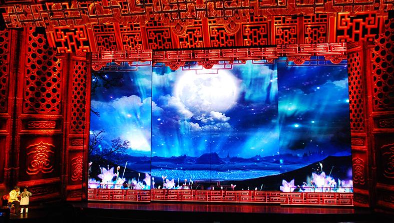 高清LED显示屏播控系统 益阳大剧院