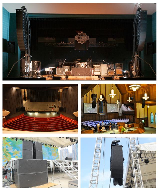 舞台演艺扩声系统