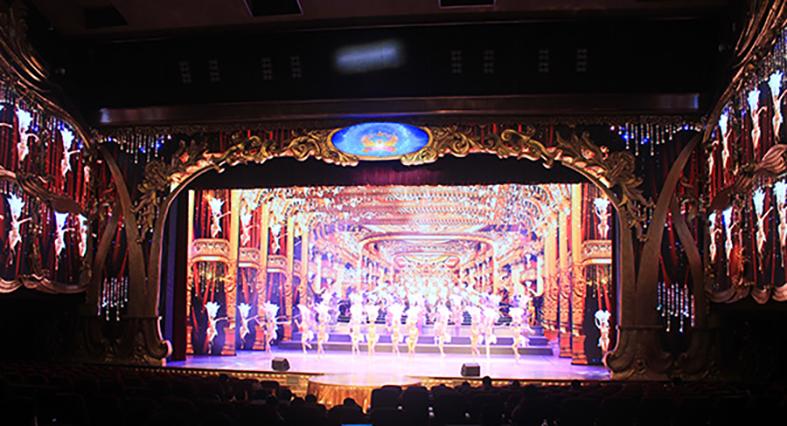 深圳海雅大剧院LED屏承建商 明和集团