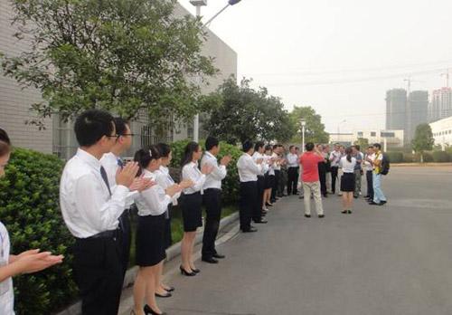 上海市演出行业协会专家团莅临明和企业调研指导工作