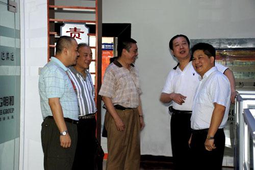 中国演艺设备技术协会领导莅临公司指导考察工作