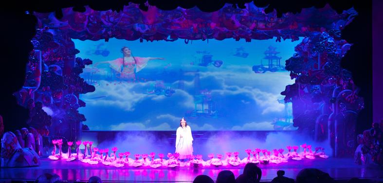 湖南省花鼓戏剧院LED显示屏及灯光改造工程