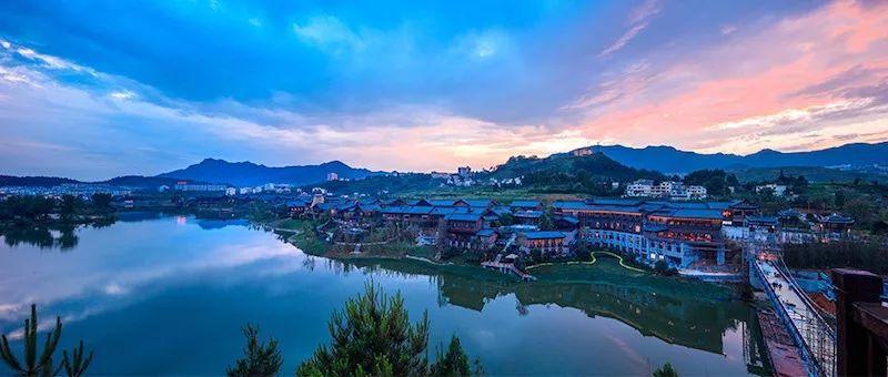 丹寨万达小镇丨文旅和鸣 明和集团为您呈现最美《锦绣丹寨》!