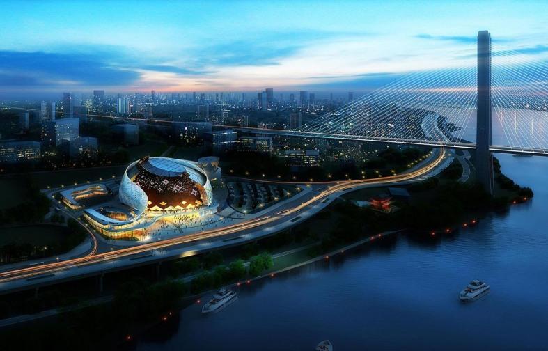 重庆国际马戏城乐投最新网址灯光演艺系统由明和集团打造