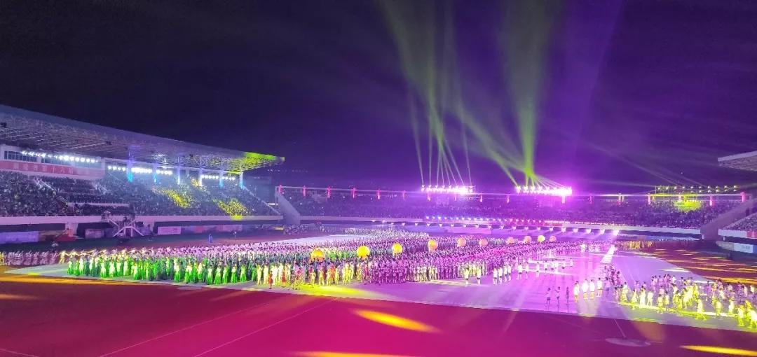 最燃的体育盛事 最嗨的运动狂欢丨福建省第十六届运动会精彩开幕!