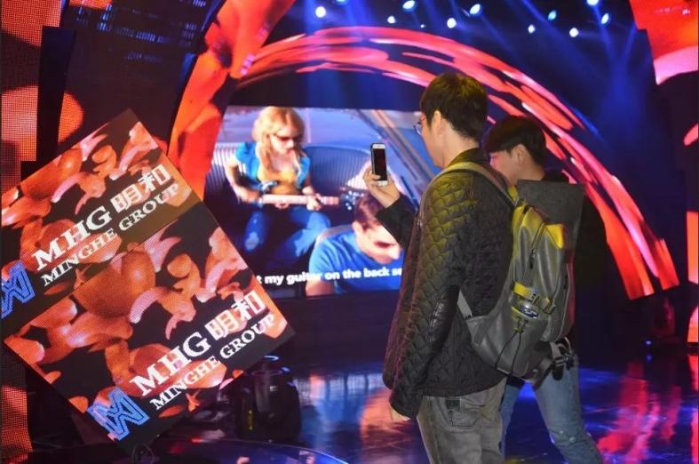 韩国光州媒体艺术家代表团莅临明和演播厅
