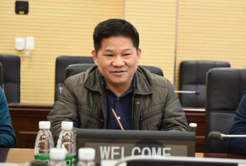明和集团董事长傅高武先生与专家调研组交流