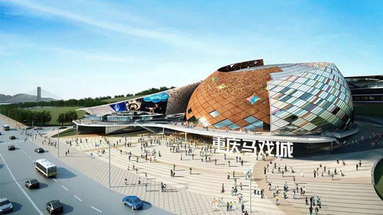 中国一流 西部最大丨重庆国际马戏城璀璨山城!