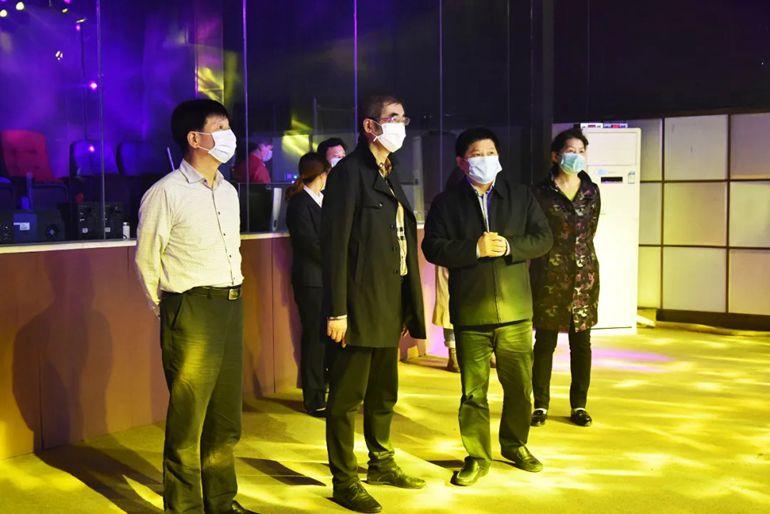湖南省政协副主席张大方一行莅临明和集团调研